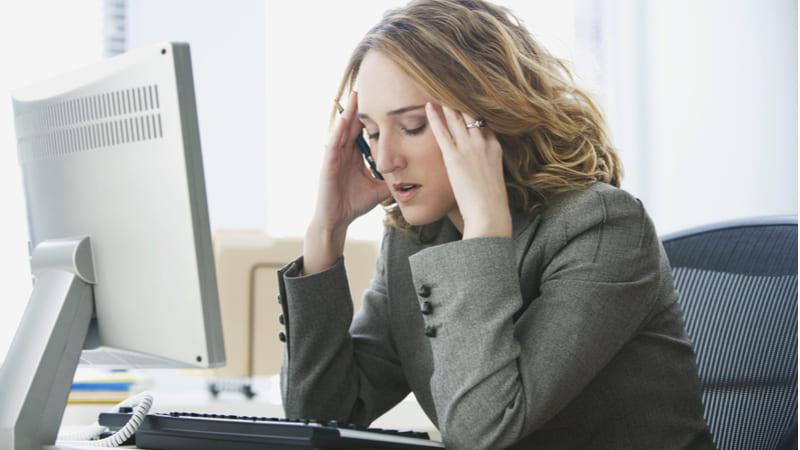 Mujeres con trabajos mentalmente agotadores tienen mayor riesgo de diabetes tipo 2