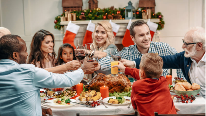 Alimentación para diabéticos durante las fiestas navideñas