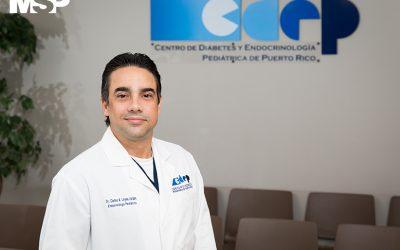 El endocrinólogo pediátrico puertorriqueño que también es paciente con diabetes