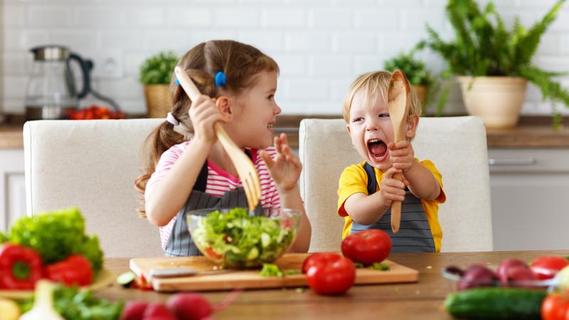 Plan de alimentación para que tu niño coma sano